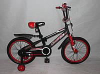 Велосипед двухколёсный 16 дюймов Azimut SPORTS CROSSER -1 красный***