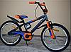 Детский двухколесный велосипед Azimut Stitch А (18 дюймов) оранжевый***