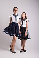 Школьная юбка фатин + лента атласная от производителя, фото 1