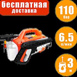 Минимойка Vitals Am 6.5-110w mini, мойка самовсасывающая, аппарат высокого давления для мойки авто