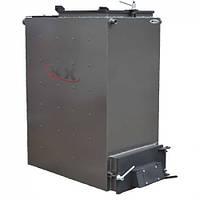 Твердотопливный котел Холмова 15 кВт (шахтный длительного горения) Bizon FS-15 Eko