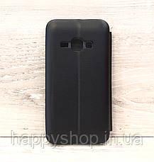 Чехол-книжка G-Case для Samsung Galaxy J1 2016 (J120) Черный, фото 2