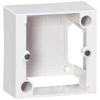 Коробка накладная 82х82 мм для розеток 20А