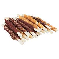 Trixie DENTAfun Chewing Roll Mix лакомство жевательные палочки для собак 250г