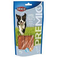 Trixie PREMIO Goose Filets лакомство для собак из филе гуся 65г