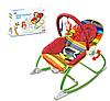 Детское кресло-шезлонг 3 в 1  024B/G Красный и розовый .2 вида