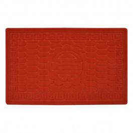 Килимок під двері без кромки (червоний), 50*80 см, TZR08184 Віланд