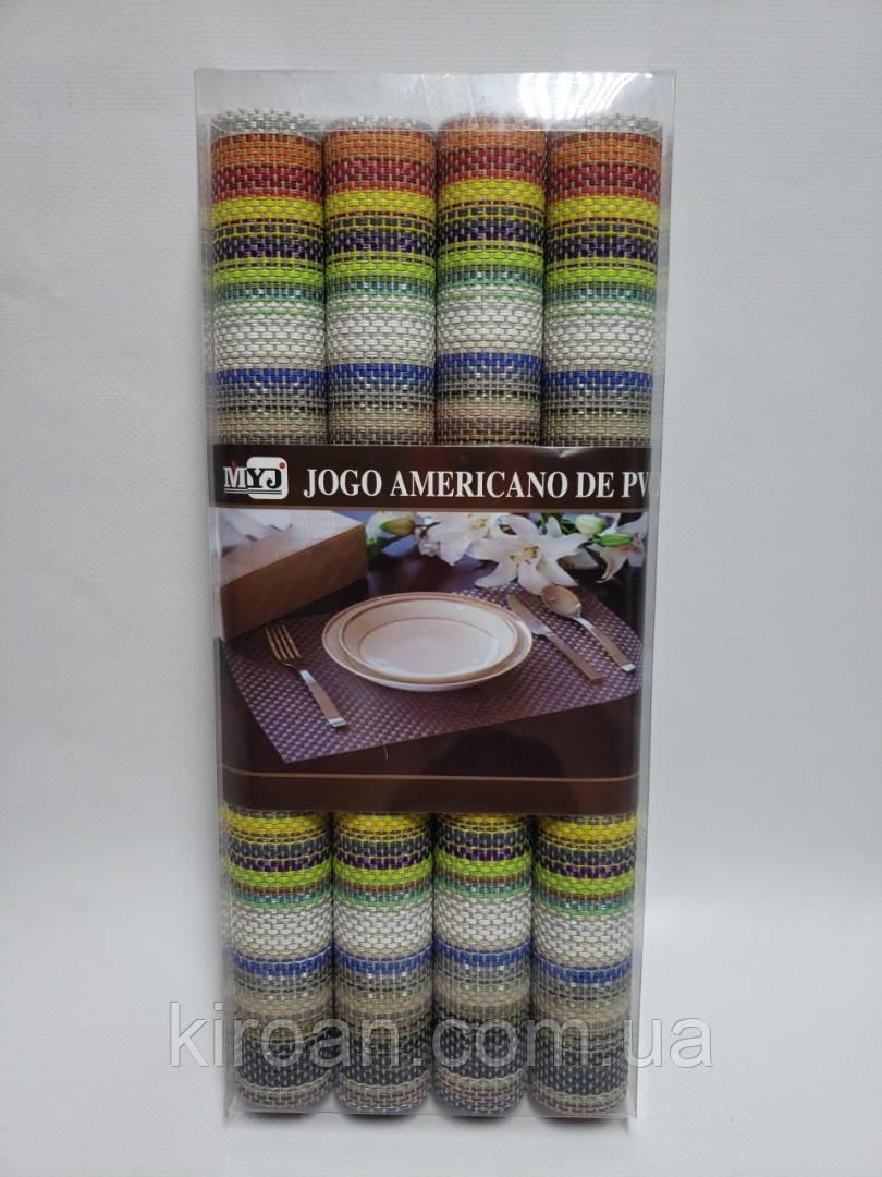 Коврики-подложки для защиты стола (сетка) набор 4шт 30х45см