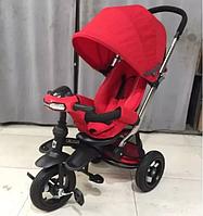 Детский трехколесный велосипед Azimut Crosser T-350 ECO  New  красный  ***