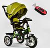 Трехколесный велосипед Best Trike поворотное сиденье и складной руль 5890-3297 горчичный  ***