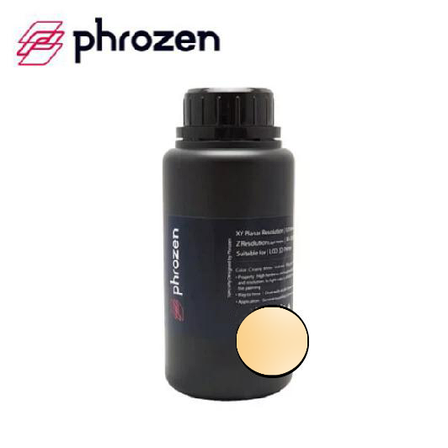 Фотополімерна смола Phrozen Standard Resin Beige (Бежевий) 500 мл, фото 2