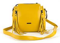 Небольшая практичная удобная и прочная небольшая сумочка B.Elit art. 09-02 желтая, фото 1
