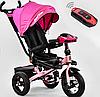 Трехколесный велосипед Best Trike поворотное сиденье и складной руль 6088 F - 3377 розовый ***