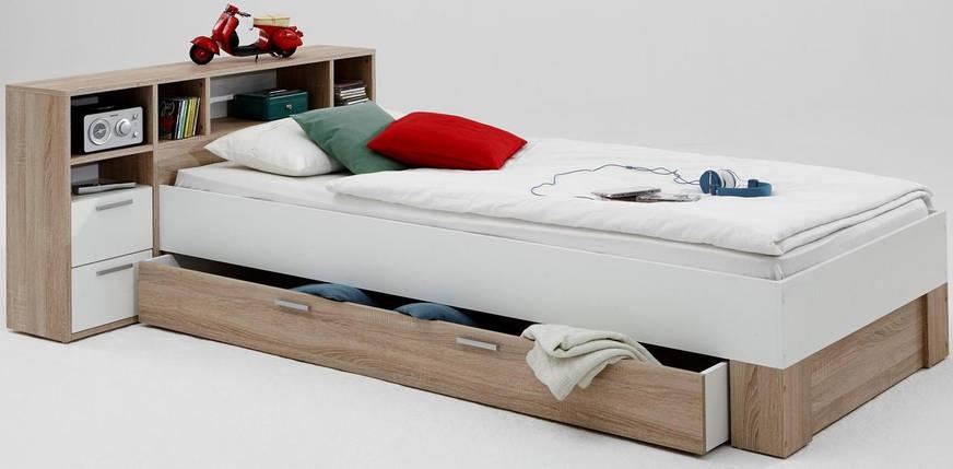 Детская кровать bh04 Бук натуральный (Mobler TM), фото 2