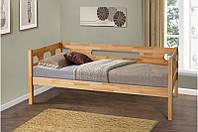 Кровать подростковая 90-200 см Сьюзи (масло натуральное)
