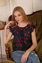 "Блузка шифоновая ""Сьюзи - вишня"", фото 3"