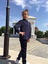 Детская школьная блузка Мод 746