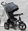 Детский велосипед-коляска CROSSER T-503 ECO, серый ***