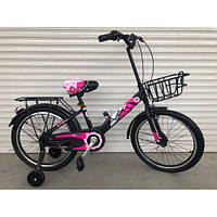 """Детский двухколесный велосипед колеса 20 дюймов """"703"""" РОЗОВЫЙ"""