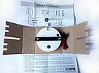 Тахометр со счетчиком моточасов ecms (черный), фото 3