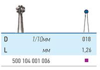Бор твердосплавный КМИЗ , Шар для прямого и углового наконечника Для прямого наконечника 500 104 001 006 018