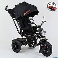 Велосипед трехколесный  Best Trike 4490-7009, поворотное сиденье, складной руль, пульт ДУ, фото 1