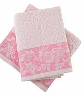 Полотенце махровое Irya Jakarli Scarlet pembe розовый 50*90