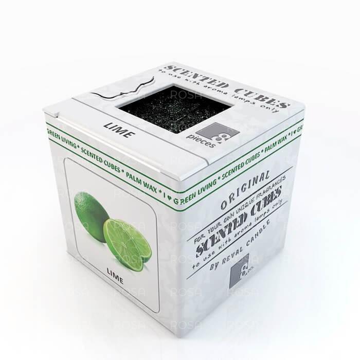Аромакубики Лайм, 8 кубиков
