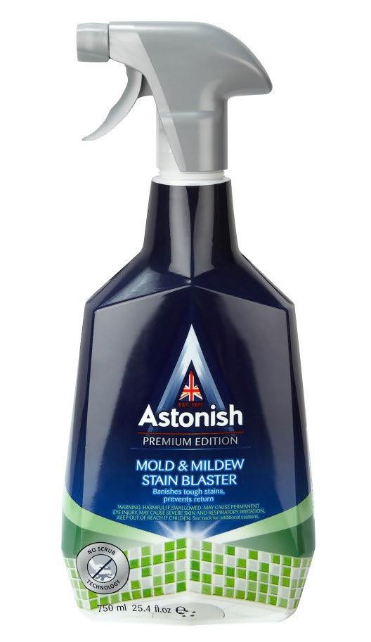 Засіб для видалення плісняви та грибку Astonish mould & mildew blaster 750 мл