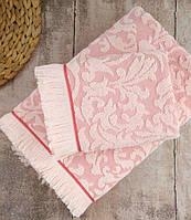 Полотенце махровое Irya Royal pembe розовый 90*150