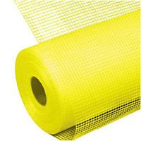 Стеклосетка штук BAUNET-145 (шир. 100 см) yellow