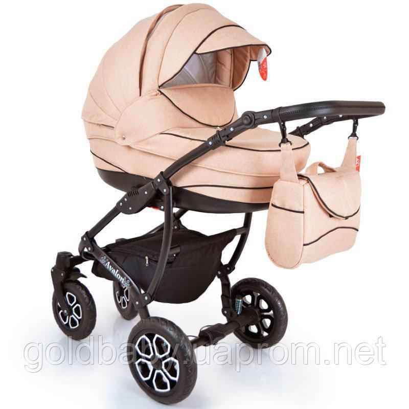 Детская коляска 2в1 AVALON Biege