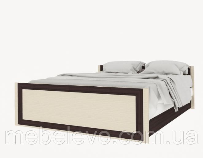 Кровать Лотос  670х1700х2060мм венге темный + светлый   Світ Меблів