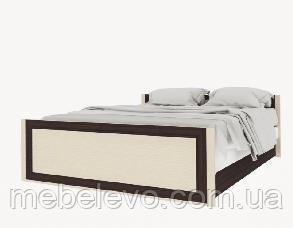 Кровать Лотос  670х1700х2060мм венге темный + светлый   Світ Меблів, фото 2