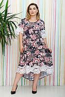 Платье большого размера Альмари (54-64), красивое