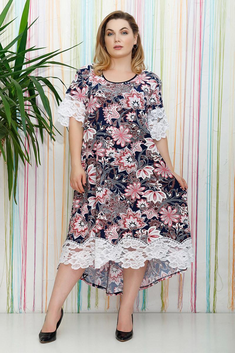 9dbddc9ec791 Платье большого размера Альмари (54-64), красивое