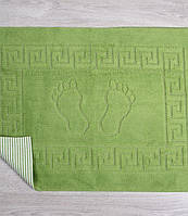 Коврик для ванной Lotus 45*65 зеленый