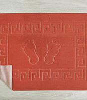 Коврик для ванной Lotus 45*65 красный