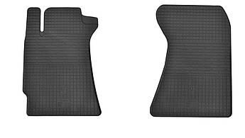 Коврики в салон резиновые передние для Subaru Forester II 2002-2008 Stingray (2шт)