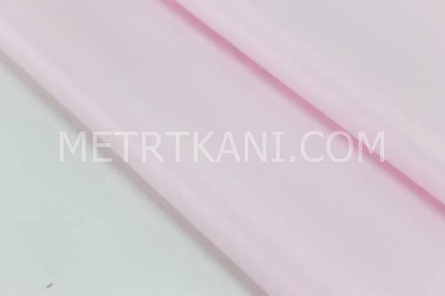 Сатин  однотонный  светло-розовом фоне  № 160-85 с