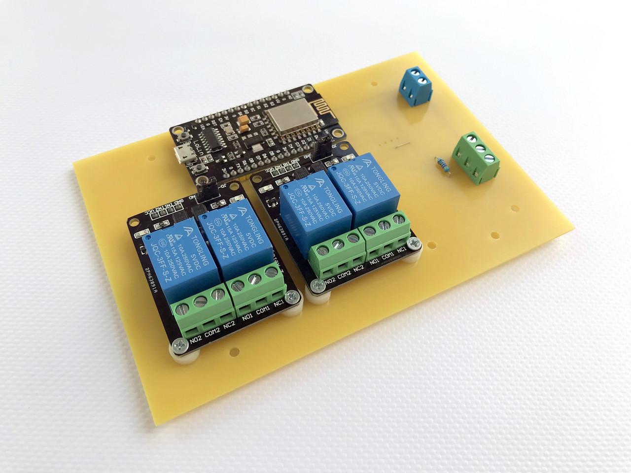 Умный дом WiFi контроллер для управления электроприборами, свет, тепло