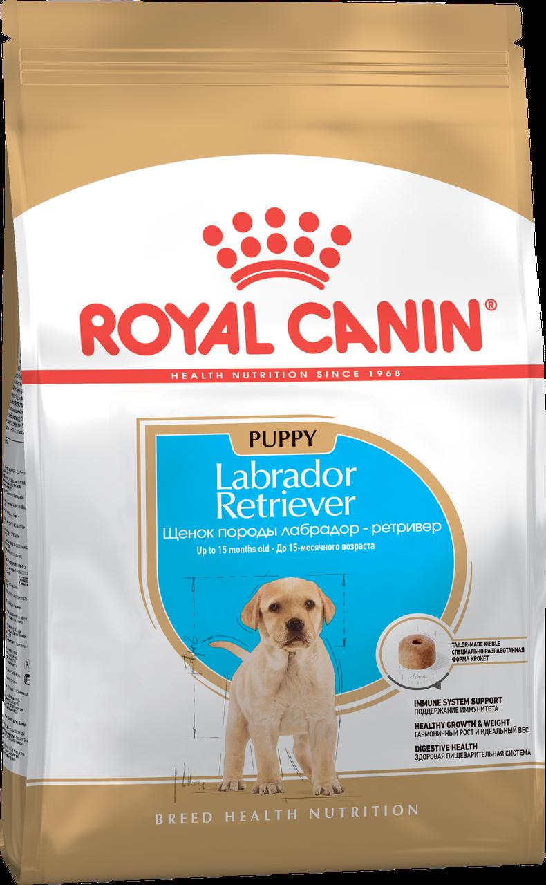 Корм для щенков лабрадора Royal Canin Labrador Puppy, 12 кг, роял канин