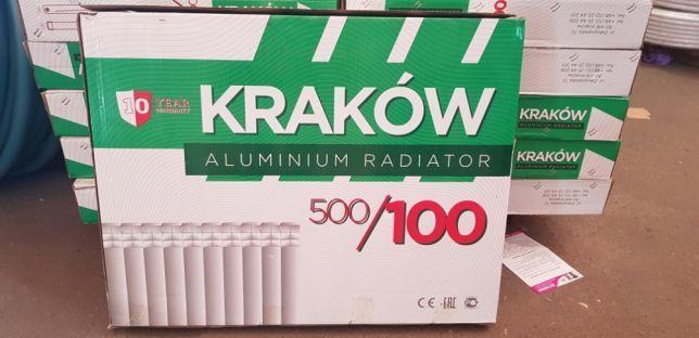 Радиатор Алюминиевый Krakow 500x100