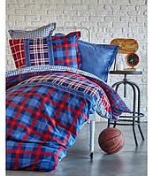Летнее постельное белье Karaca Home Leal 2017-1 ранфорс пике подростковое