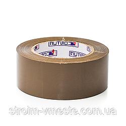 Скотч упаковочный коричневый Contur 48 мм x 75 м x 50 мкм