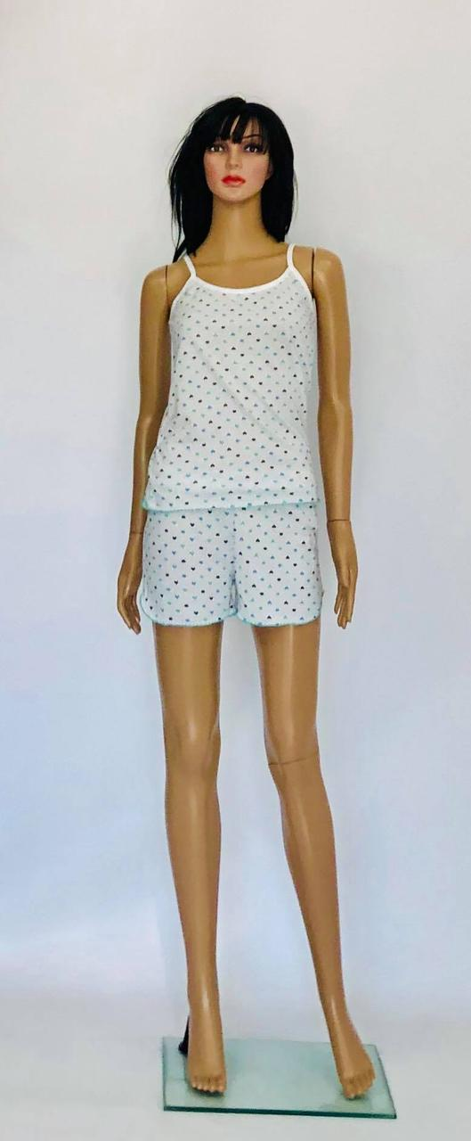Жіночий комплект для сну топ з шортами