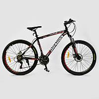 Горный велосипед CORSO DRAGON 26 Черно-красный