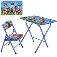 Детский складной столик со стульчиком Bambi A319-PP Щенячий Патруль