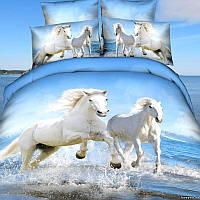 Комплект постельного белья love You Союз Сатин 3D Семейный