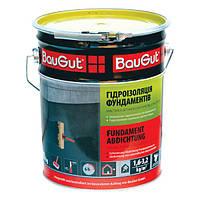 Мастика битумно-каучуковая фундаментная BauGut 10 кг
